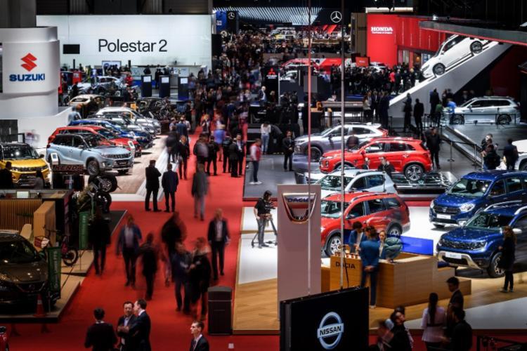 Salão Automóvel de Genebra é geralmente realizado em março | Foto: Fabrice Coffrini | AFP - Foto: Fabrice Coffrini | AFP