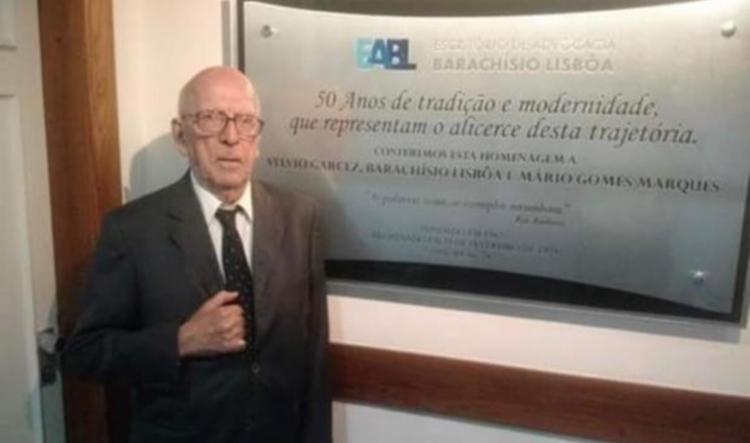 Jurista comandava o escritório Barachiso Lisbôa   Foto: Reprodução - Foto: Reprodução