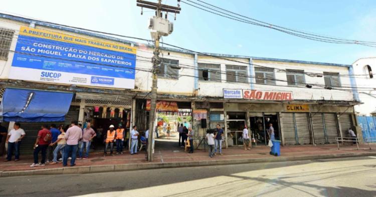 Bloqueio será na Av. JJ Seabra, nas proximidades do Mercado de São Miguel   Foto: Divulgação - Foto: Divulgação