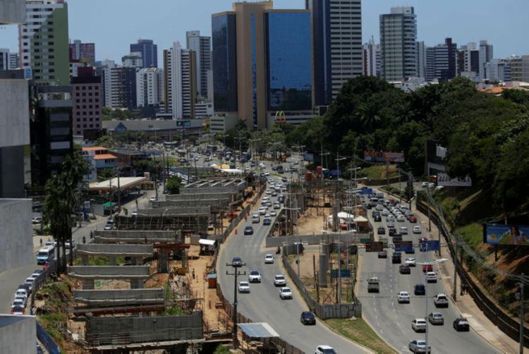 Transalvador estará no local orientando condutores e pedestres   Foto: Joá Souza   Ag. A TARDE - Foto: Joá Souza   Ag. A TARDE