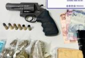 Polícia apreende arma e drogas no Engenho Velho da Federação | Foto: Divulgação | SSP-BA