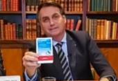 Procurador pede a TCU que proíba Bolsonaro de propagandear o uso da cloroquina | Foto: Reprodução