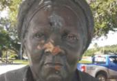 Busto de Mãe Gilda volta a ser alvo de vandalismo em Itapuã | Foto: Arquivo Pessoal |