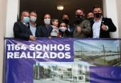 Bolsonaro entrega 1,16 mil casas em município gaúcho | Foto: