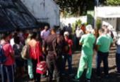 Funcionários de hospital na Santa Mônica protestam por causa de atraso salarial | Foto: Divulgação | SindSaúde