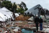 Defesa Civil levanta danos causados pela passagem de ciclone em SC | Foto: