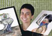 Talentos da nova geração de ilustradores e desenhistas baianos ampliam campos de ação | Foto: Adilton Venegeroles | Ag. A TARDE