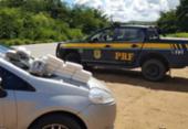 Em apenas 15 horas, PRF faz três apreensões de drogas em estradas baianas | Foto: Divulgação | PRF-BA