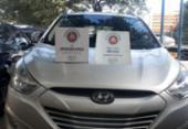 Dupla suspeita de adulterar carros é presa com veículo roubado na Boca do Rio | Foto: Divulgação | SSP