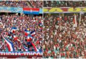 Torcedores e conselheiros da dupla Ba-Vi projetam futuro do futebol baiano | Foto: Felipe Oliveira | EC Bahia e Adolfo Freitas | EC Vitória
