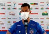 Parado há quase um ano, Elton fala sobre apoio do técnico Roger Machado | Foto: Felipe Oliveira | E.C.Bahia