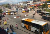 Protesto bloqueia trânsito na entrada de Fazenda Coutos | Foto: Cidadão Repórter | Via Whatsapp