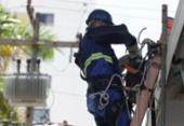 Trabalhadores de terceirizada da Coelba paralisam atividades nesta sexta-feira | Foto: Joá Souza | Ag. A TARDE