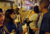 Famílias são atendidas após desabamento de marquise em Periperi | Foto: Divulgação
