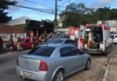 Tentativa de assalto termina com suspeito morto no Trobogy; PM e mulher são baleados | Foto: Renan Pinheiro | TV Bahia