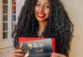 Repórter do Portal A Tarde, Ashley Malia, recebe Prêmio Maria Felipa | Foto: Reprodução | Arquivo Pessoal