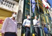 Rui e Neto defendem medidas adotadas para combater o novo coronavírus | Foto: Max Haack | SECOM
