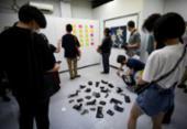 Exposição em Tóquio que permitia roubo de obras durou dez minutos | Foto: AFP