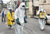 Ações de desinfecção são realizadas em Salvador | SECOM