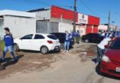 Força-tarefa desarticula feira clandestina de carros   Divulgação