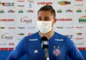 Lateral fala de ansiedade para partida contra o Náutico | Felipe Oliveira | E.C.Bahia