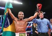 Medalhista olímpico, boxeador baiano anuncia retorno   Divulgação   Top Rank