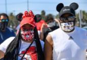 Disney reabre em plena expansão da Covid-19 na Flórida | Robyn Beck | AFP