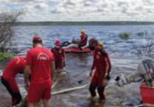Bombeiros suspendem buscas por vítimas do naufrágio | Divulgação | CBMBA