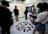 Exposição que permitia roubo de obras durou dez minutos | AFP