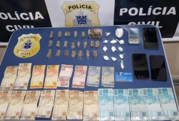Suspeito de tráfico é preso com drogas e dinheiro em Paulo Afonso