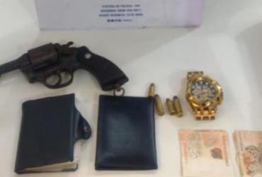 Suspeito de assalto é preso no Vale do Canela | Divulgação | SSP