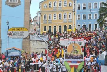 Manifestações movimentam a rede| Foto: Felipe Iruatã | Ag. A TARDE - Felipe Iruatã | Ag. A TARDE