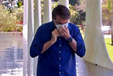 Bolsonaro diz estar 'muito bem' e volta a recomendar uso da hidroxicloroquina | TV BRASIL | AFP