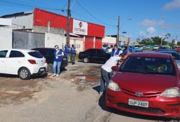 Força-tarefa desarticula feira clandestina de carros na Paralela | Divulgação