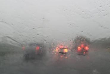 Salvador tem início de quinta-feira chuvosa; temperatura varia entre 24ºC e 27ºC   Raphael Muller   Ag. A TARDE