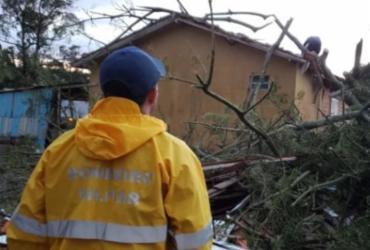 Novo ciclone deixa estragos no Rio Grande do Sul | Corpo de Bombeiros | Santa Catarina