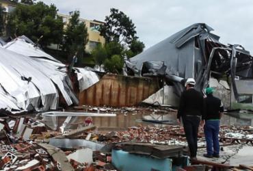 Defesa Civil levanta danos causados pela passagem de ciclone em SC |