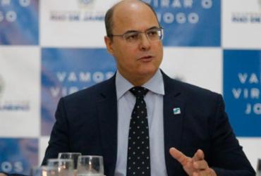 Witzel depõe à PF sobre operações policiais no estado do Rio | Fernando Frazão | Agência Brasil