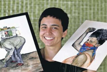 Talentos da nova geração de ilustradores e desenhistas baianos ampliam campos de ação | Adilton Venegeroles | Ag. A TARDE