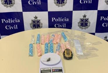 Cerca de 18 mil reais em pinos de cocaína são apreendidos | Divulgação | SSP