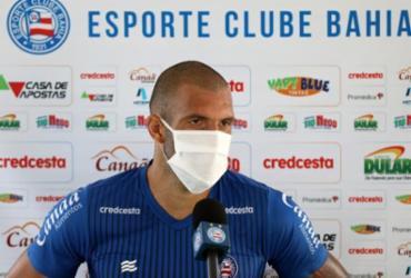 """""""Oportunidade de dar a volta por cima"""", diz Fernandão sobre retorno dos jogos   Felipe Oliveira   E.C.Bahia"""