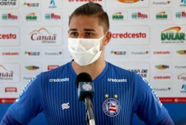 João Pedro fala sobre ansiedade para partida contra o Náutico | Felipe Oliveira | E.C.Bahia