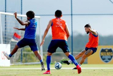 Bahia encerra preparação para partida de decisão da Copa do Nordeste   Felipe Oliveira   EC Bahia