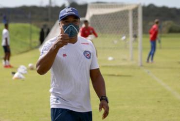 Após retornar a Salvador, Roger Machado comanda os trabalhos nesta quinta | Felipe Oliveira | EC Bahia