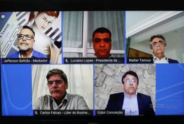 A TARDE Conecta debate plano para reabertura do comércio | Raphael Müller | Ag. A TARDE