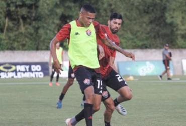 Com três caras novas, Vitória segue preparação para retorno   Letícia Martins E.C.Vitória