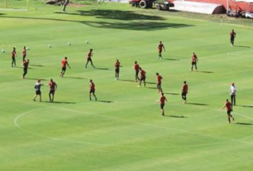 Com presença de Paulo Carneiro, Vitória encerra quarta semana de treinos | Ascom | ECV