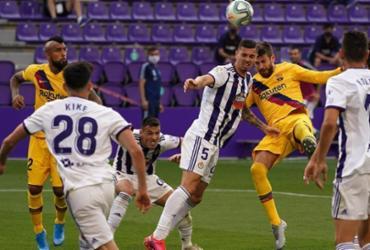Barcelona vence Valladolid e segue na disputa do Campeonato Espanhol | Cesar Manso | AFP