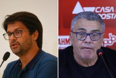 Dupla Ba-Vi vê como positiva mudança nos direitos de transmissão; especialista aponta riscos | Rafael Martins e Uendel Galter | AG. A TARDE