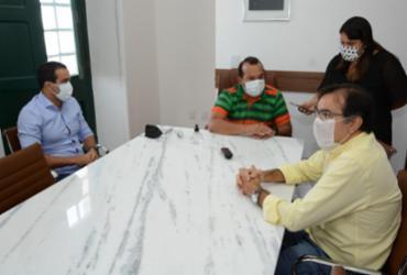 Geraldo Júnior promove reunião para tratar de Covid-19 e economia | Divulgação